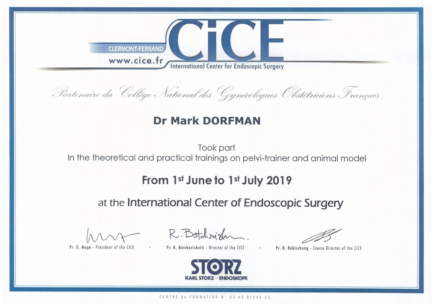 Формула изобретения «Способ подготовки и выполнения хирургической операции на органах малого таза» #2